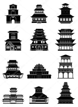 Architecture China Drawing Building Temple Png Clipart Free Download