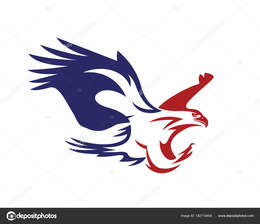 Download Patriotic Eagle Icon Clipart Logo