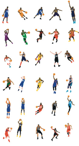 Legends Nba Basketball clipart - About 41 free commercial ...