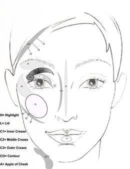Se Makeup Face Template Makeup Nuovogennarino