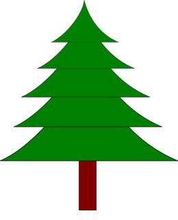 Download Sapin Dessin Couleur Clipart Drawing Christmas Tree Santa Claus