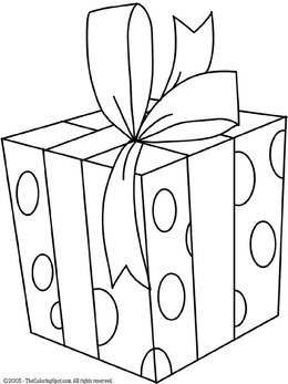 Download christmas presents coloring pages clipart Christmas ...