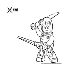 Kleurplaten Lego Ninjago Masters Of Spinjitzu.Ninjago Kai Kleurplaat Hairwajidi Co