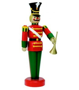 download large life size toy soldier with trumpet outdoor christmas decorations ds 55 10032 clipart decorative nutcracker toy soldier with trumpet - Outdoor Police Christmas Decorations