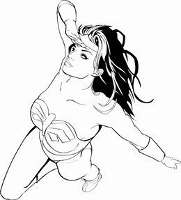 Dc Comics Wonder Woman Coloring Book clipart - About 35 free ...
