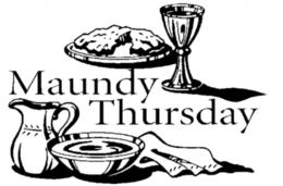 Maundy Thursday by The Rev. Martin Elfert   Grace Memorial Episcopal Church