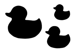 rubber duck silhouette clipart about 24 free commercial