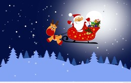 cartoon christmas sky snowman holiday illustration art graphics png clipart free download
