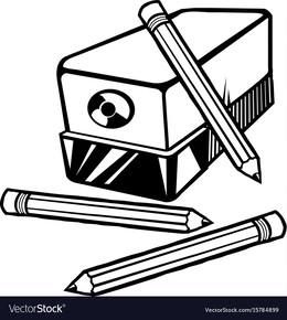 Cartoon Pencil Sharpener Clipart