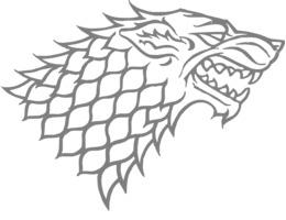 Game of thrones wolf. House stark targaryen beer