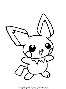 Download Pokemon Pichu Clipart Pikachu Coloring Book