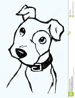 Download Cute Dog Face Drawing Clipart Puppy Dog Drawing