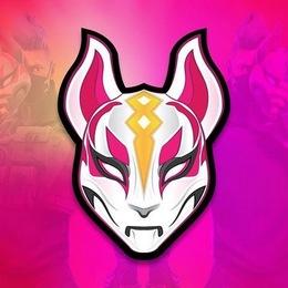 Fortnite Mask Pink Font Illustration Art Graphics Png Clipart