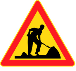 Clip Art - Road Signs . Fotosearch - Search Clipart, Illustration Posters,  Drawings,