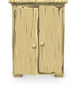 Free Download Armoires Wardrobes Closet Shelf Bedroom Clip Art