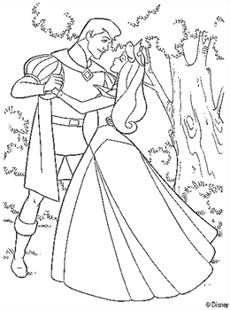 Download Coloring Princess Sleeping Beauty Clipart Aurora The Colouring Pages