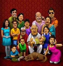 family people cartoon team art fun product smile png clipart