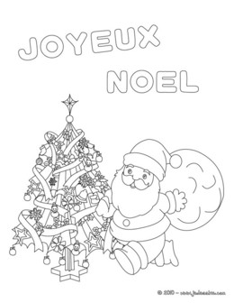 Download Coloriage Joyeux Noel Clipart Santa Claus Coloring Book