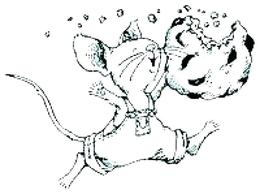 If You Give A Mouse Cookie Coloring Pages Clipart