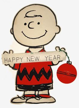 download charlie brown happy new year clipart charlie brown snoopy linus van pelt