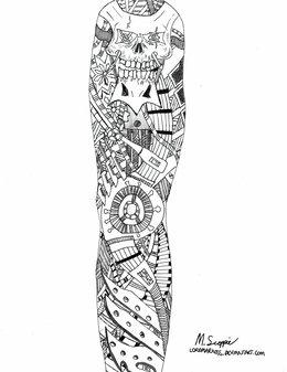 Tattoo Sleeve Clipart
