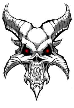 demon skull clipart about 29 free commercial noncommercial