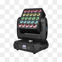 Download Epsilon Flexcube 25 Pro Pixel Mapping Led Moving Head Light Clipart Intelligent Lighting Stage