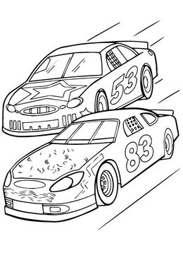 Download Racecar Coloring Page Clipart Car Colouring Pages Book
