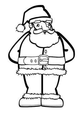 download santa claus coloring clipart santa claus colouring pages mrs claus
