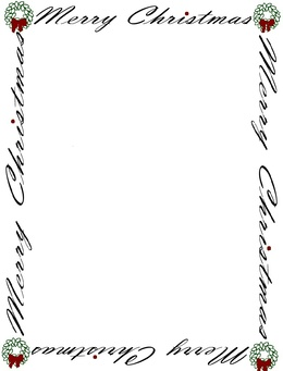 download free christmas stationery paper clipart paper stationery