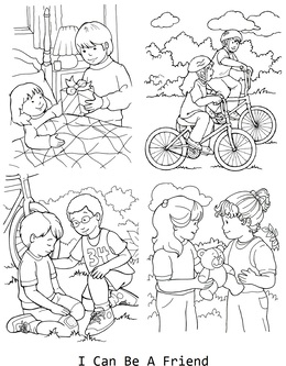 Download lds coloring pages clipart Coloring book Missionary ...