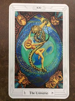 Download universe crowley tarot clipart The Book of Thoth