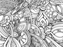 Download psychedelic coloring pages clipart The Mandala Coloring ...