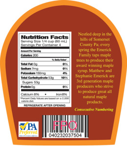 Download File Format Clipart Nutrition Facts Label Text