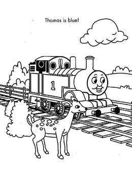Download Thomas The Train Coloring Pages Clipart Toby Tram Engine
