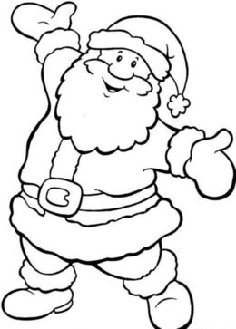 download santa coloring pages printable free clipart santa claus coloring book colouring pages