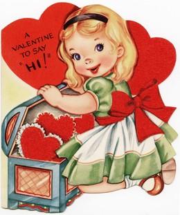Download Vintage Valentine Cards Clipart Valentine S Day Greeting