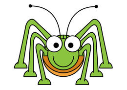 Green Grasshopper Clipart About 8 Free Commercial Noncommercial