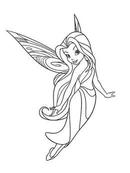 Download tinkerbell vidia coloring pages clipart Vidia Disney ...