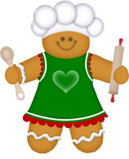 Download Clip Art Clipart Gingerbread Man