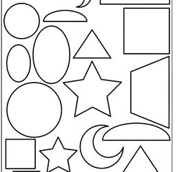 Download shapes coloring pages clipart Simple Shapes Coloring book ...