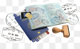 France Clipart Israeli Passport Stamp