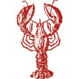Download Lobster Shower Curtain Clipart Red Roll American