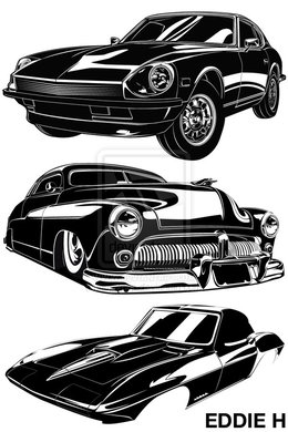 Classic Car Clip Art Clipart About 3600 Free Commercial