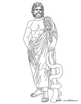 Download Greek God Apollo Coloring Page Clipart Ares Hades