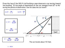 Download trigonometry word problems clipart Angle