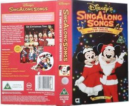 download disney sing along songs clipart disney sing along songs the twelve days of christmas vhs