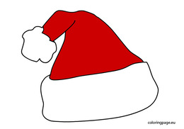 thank you for downloading santa hat coloring pages clipart coloring book santa claus christmas coloring pages