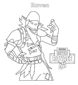 Fortnite Coloring Pages Ginger