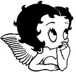 Download Betty Boop Angel Tattoo Clipart